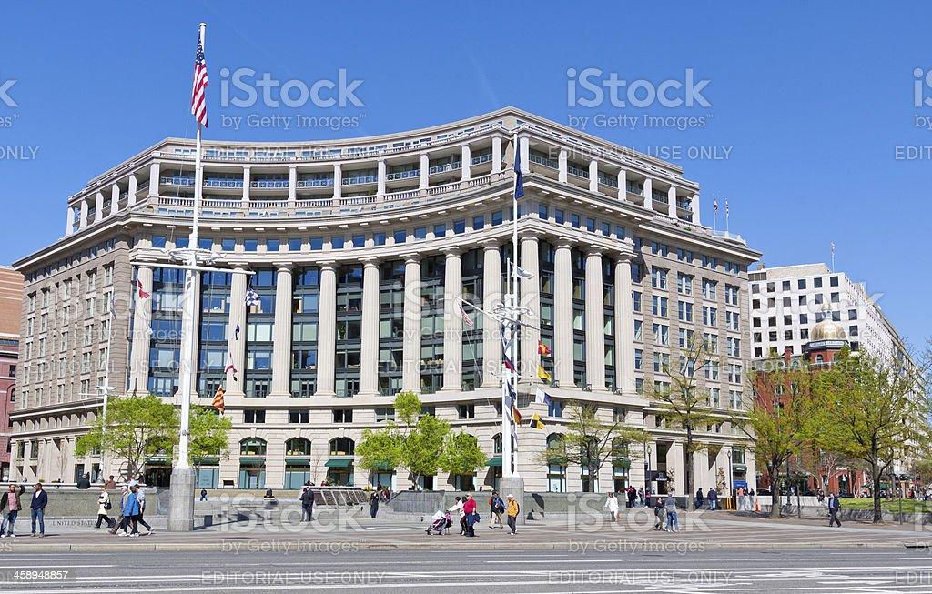 Office Building, Washington DC royalty-free stock photo