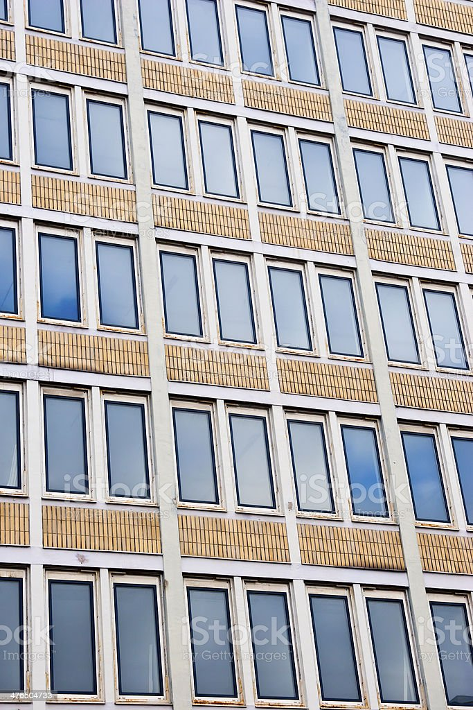 Office Building Window Facade royalty-free stock photo