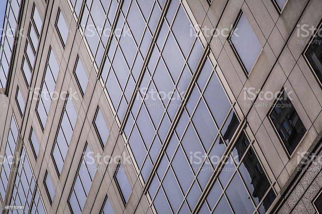 Office Building Windows stock photo