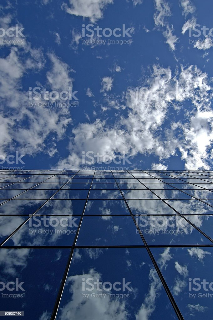 Office building windows royalty-free stock photo