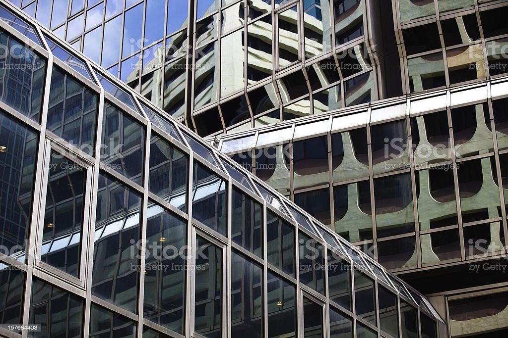 office building,HONGKONG royalty-free stock photo