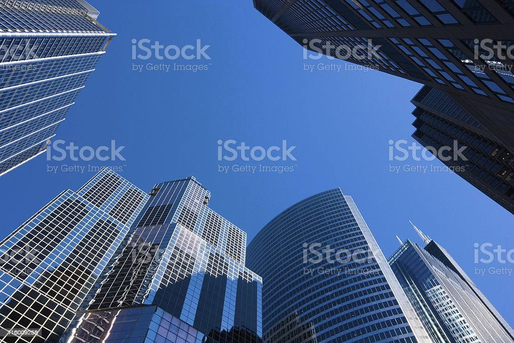 Office Buildings - Chicago stock photo