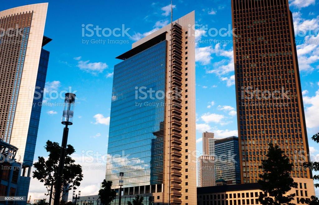 Office Buildings in Frankfurt am Main stock photo