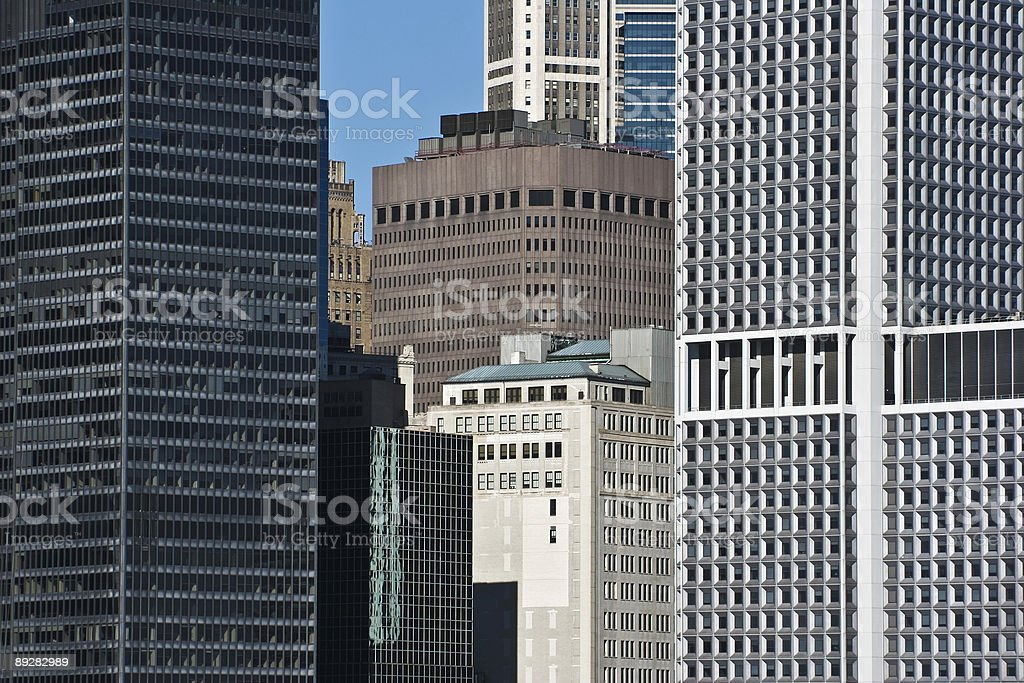 Office Buildings in New York royalty-free stock photo