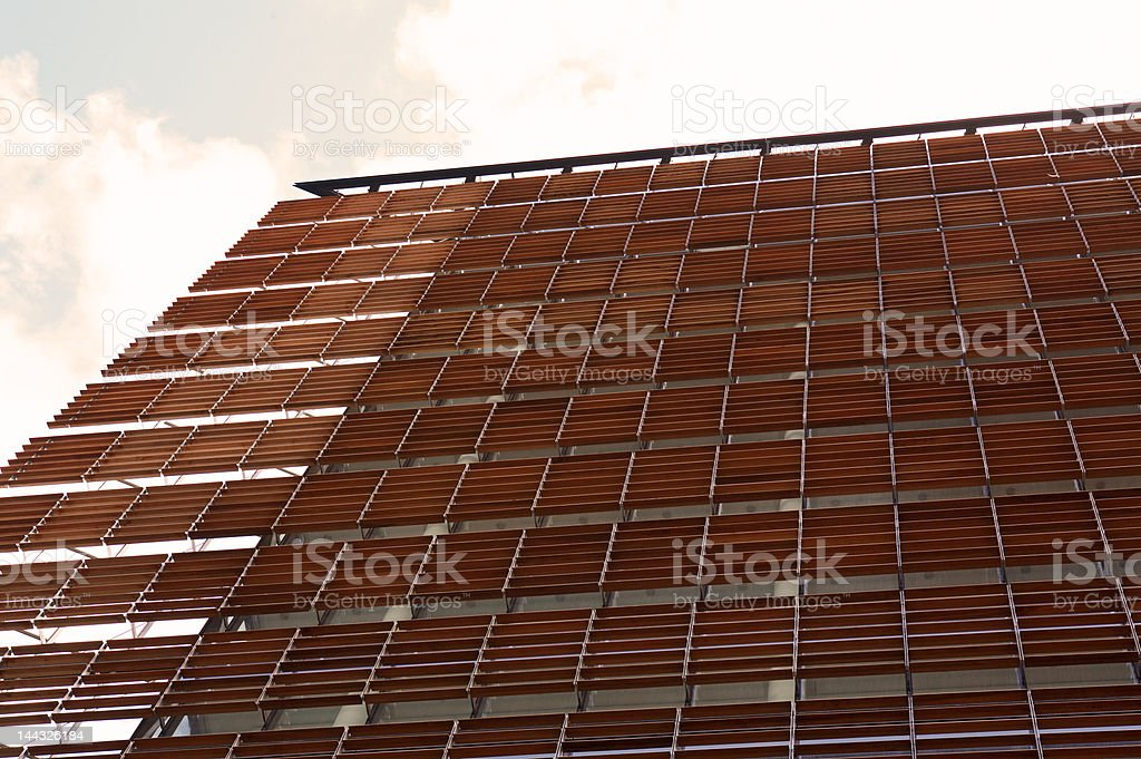 Office buildings in the City of London royalty-free stock photo