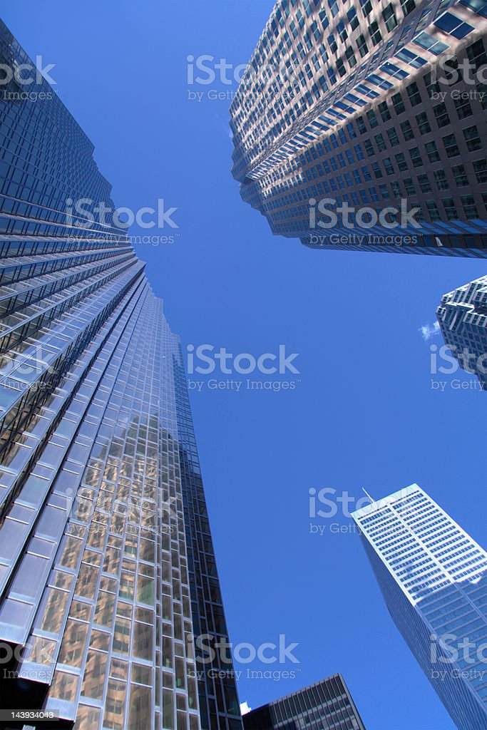 Office buildings royalty-free stock photo