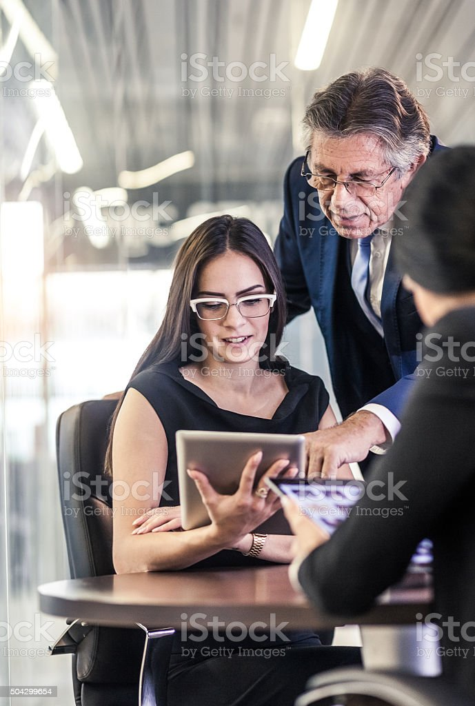 Office Business team stock photo