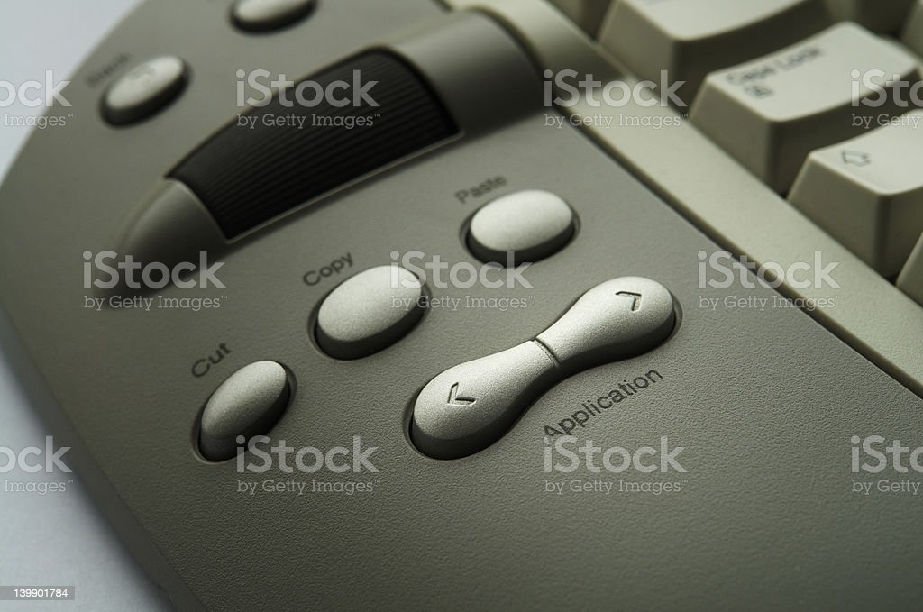 Office Buttons royalty-free stock photo