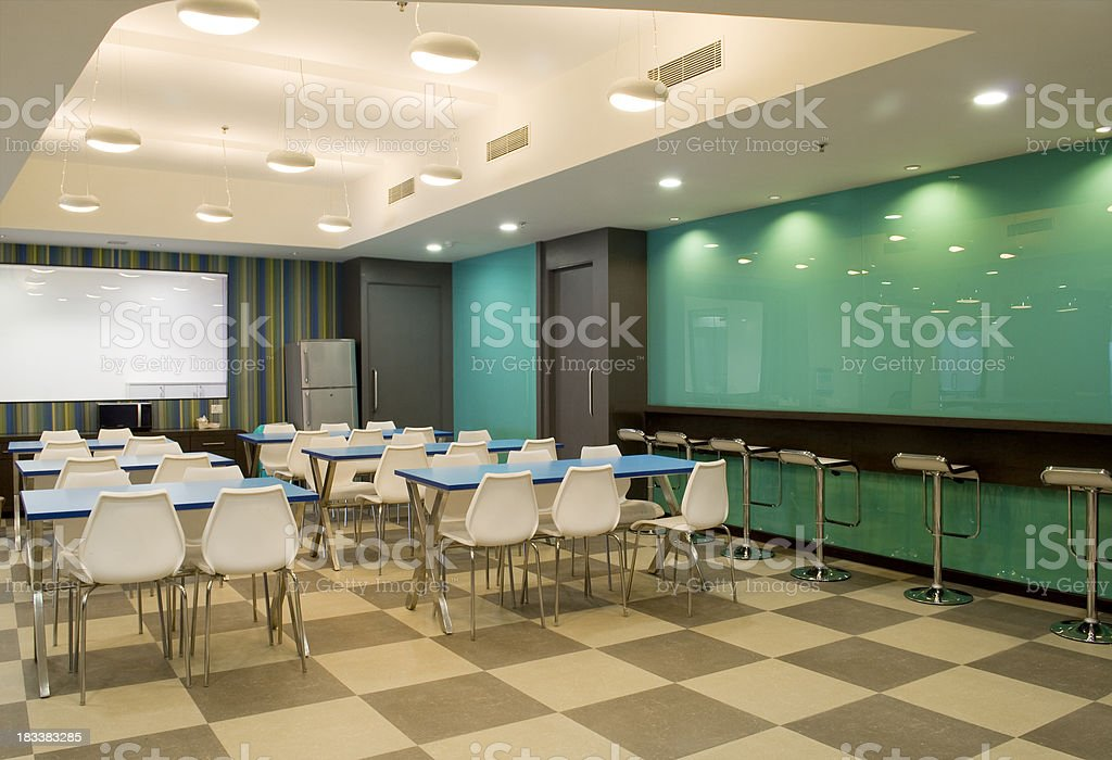 Office cafeteria stock photo