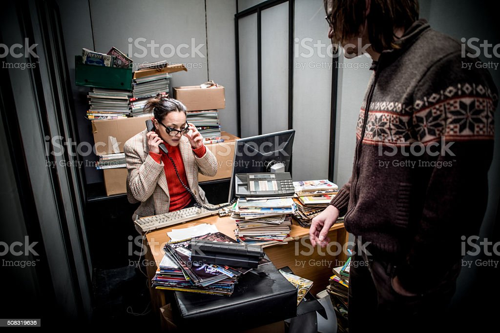 Office Cage stock photo