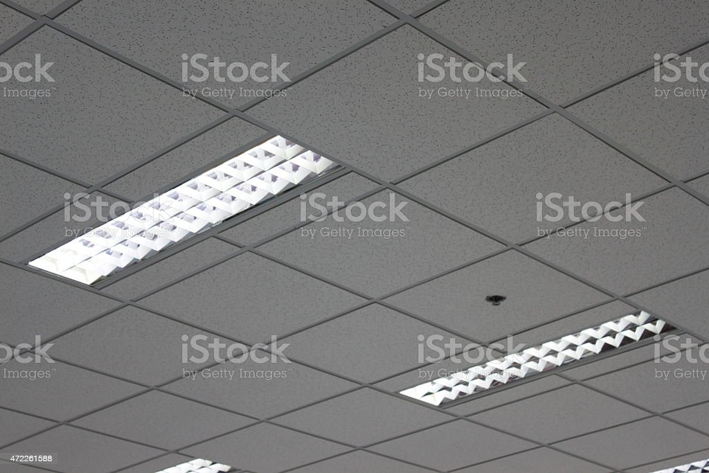 Office Ceiling stock photo