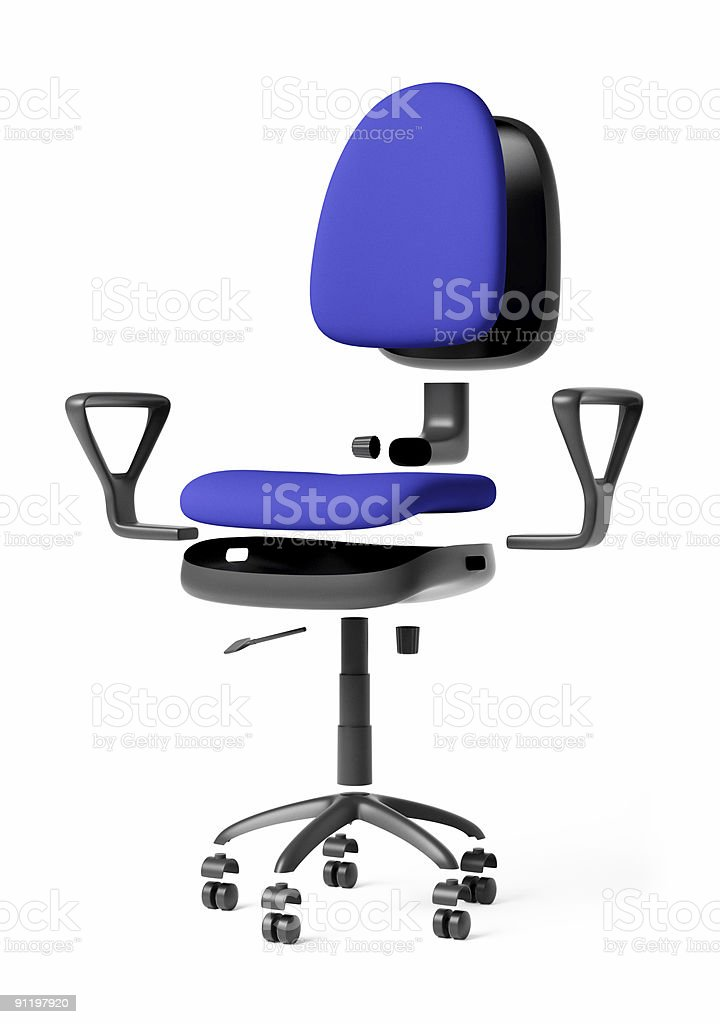 office chair assembly royalty-free stock vector art