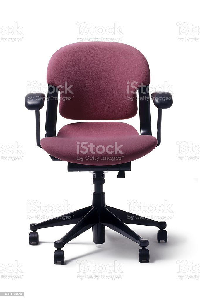 Office: Chair royalty-free stock photo