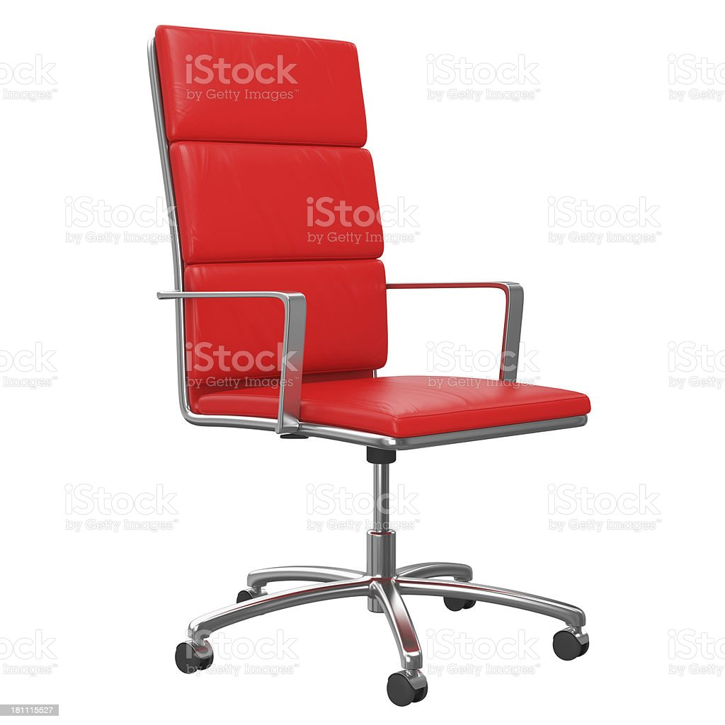 Office Chair with Clipping Path royalty-free stock photo