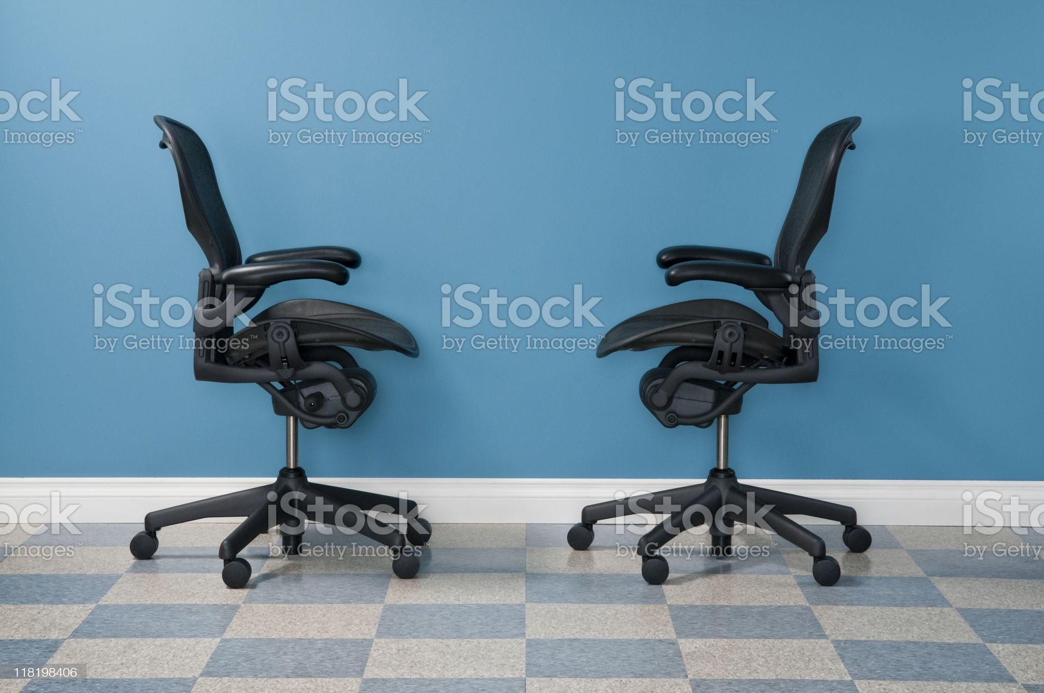 Office Chairs royalty-free stock photo