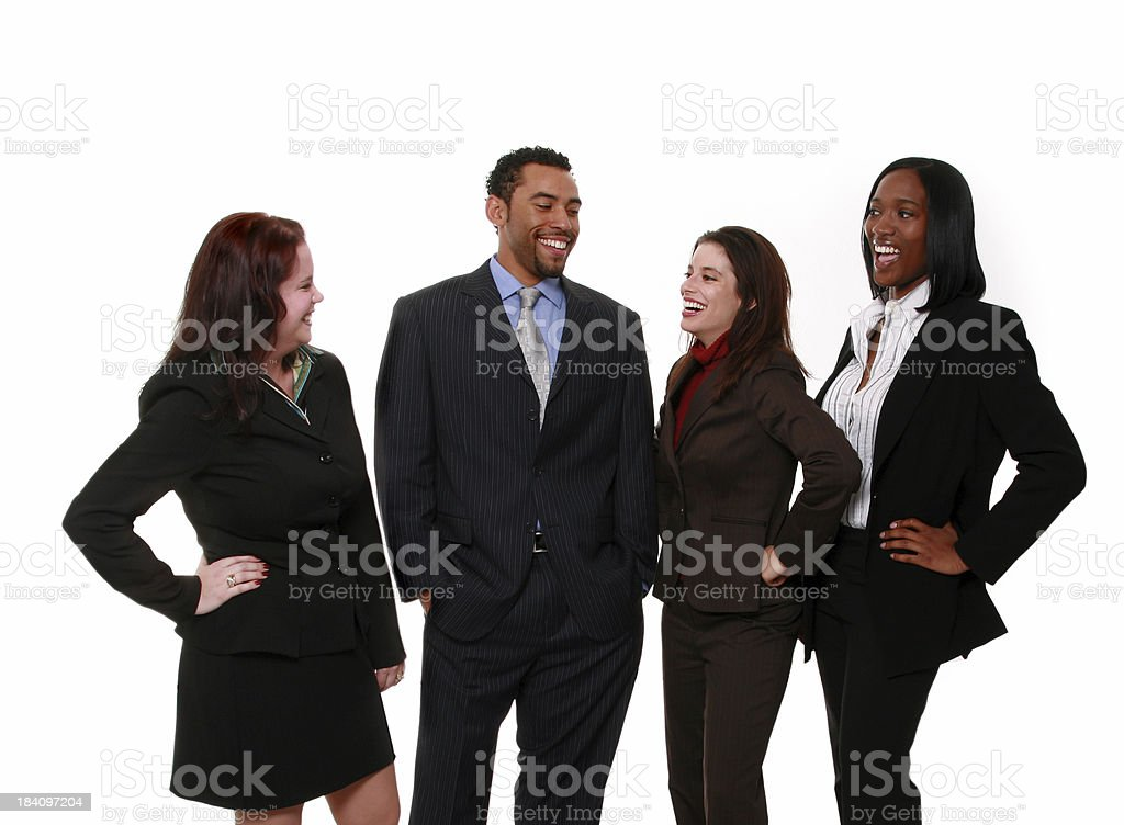 Office Chat royalty-free stock photo