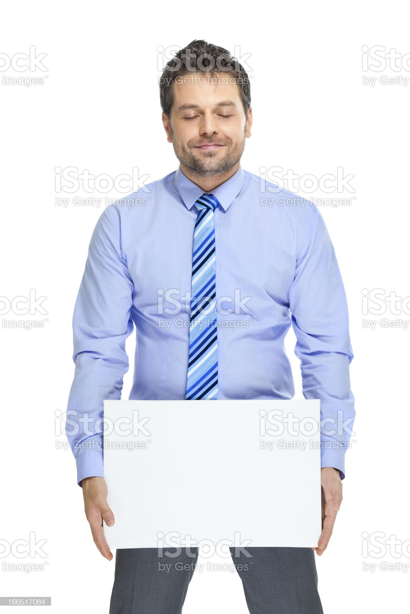 Office clerk royalty-free stock photo