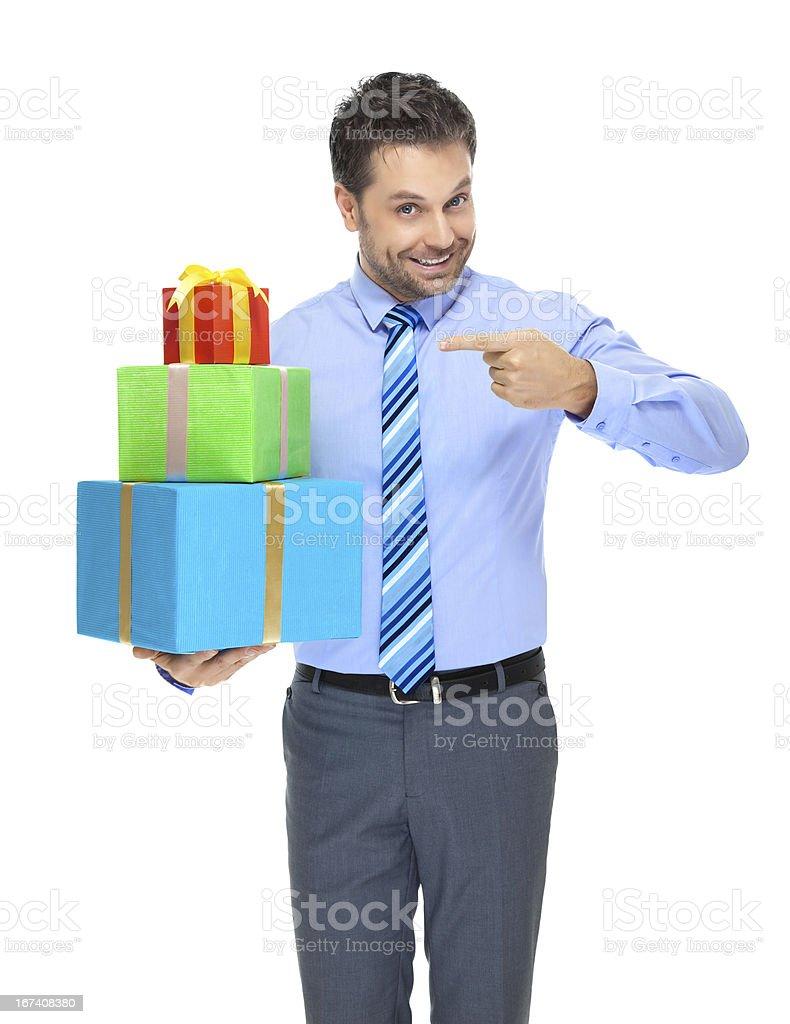 Office clerk stock photo