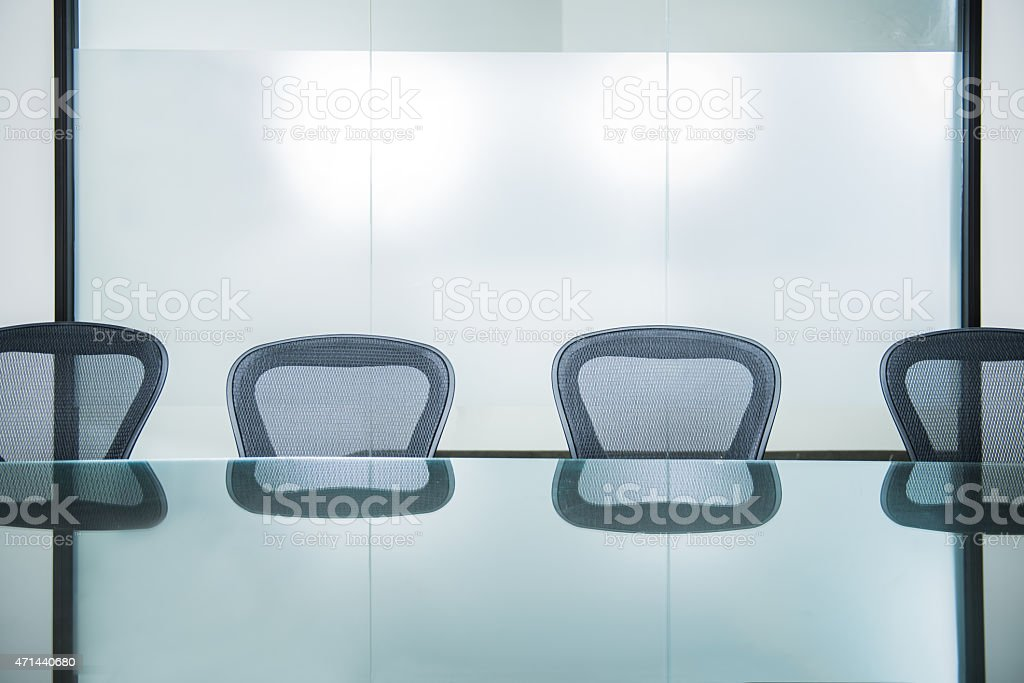 Office Conference Room Background stock photo