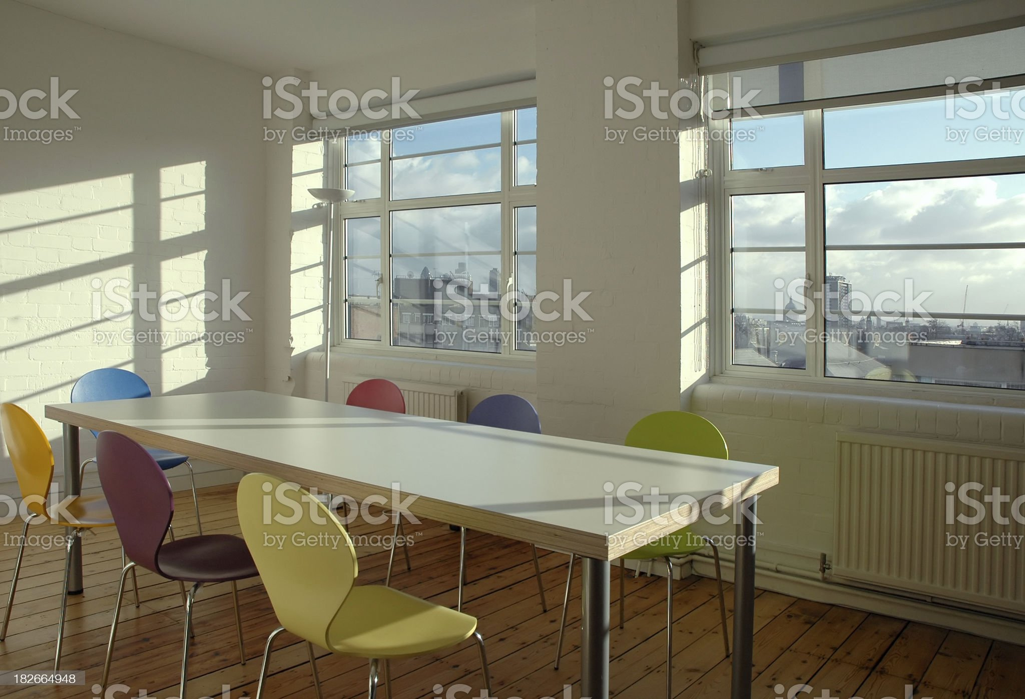 Office - Conference Room royalty-free stock photo
