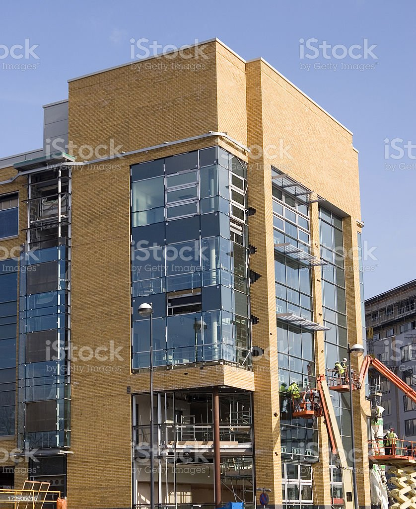 Office construction royalty-free stock photo