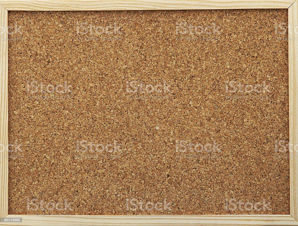 office cork board stock photo