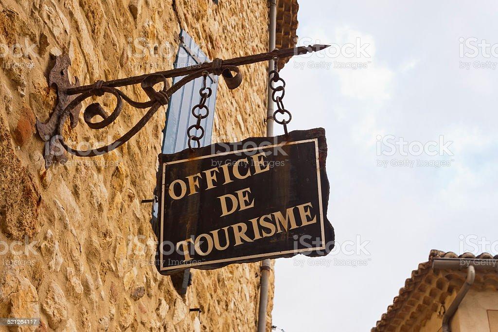 Office de Tourisme stock photo