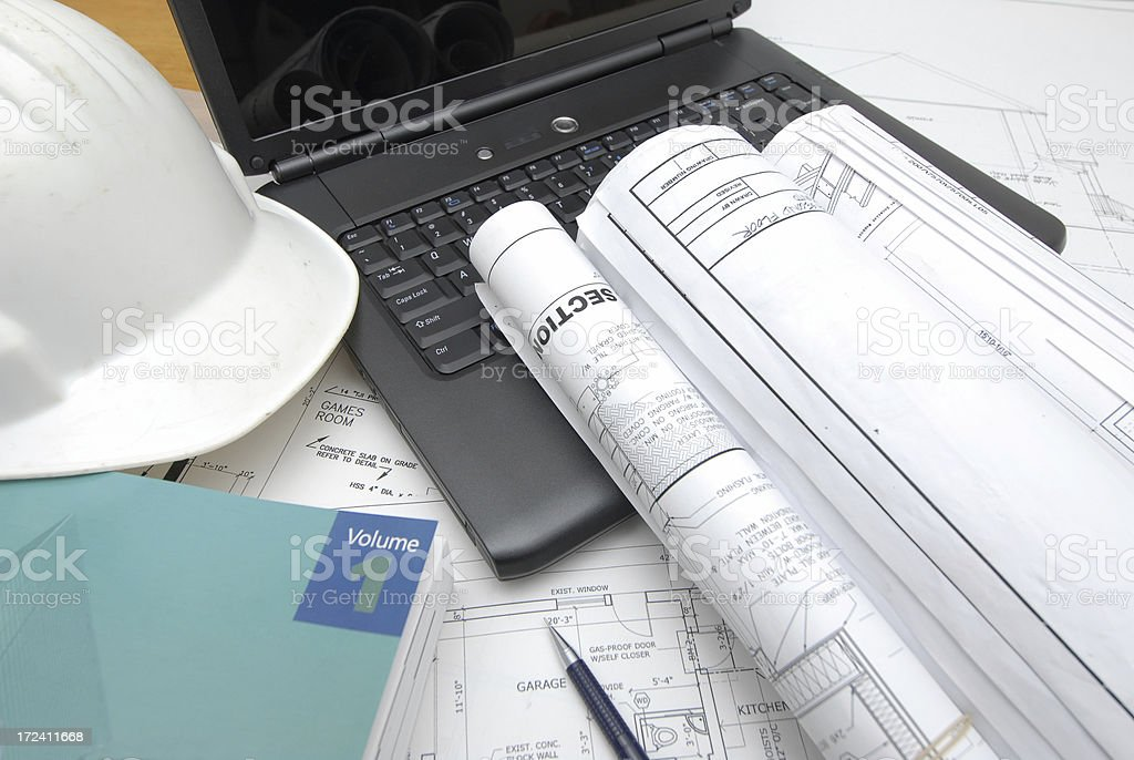office desk 3 royalty-free stock photo