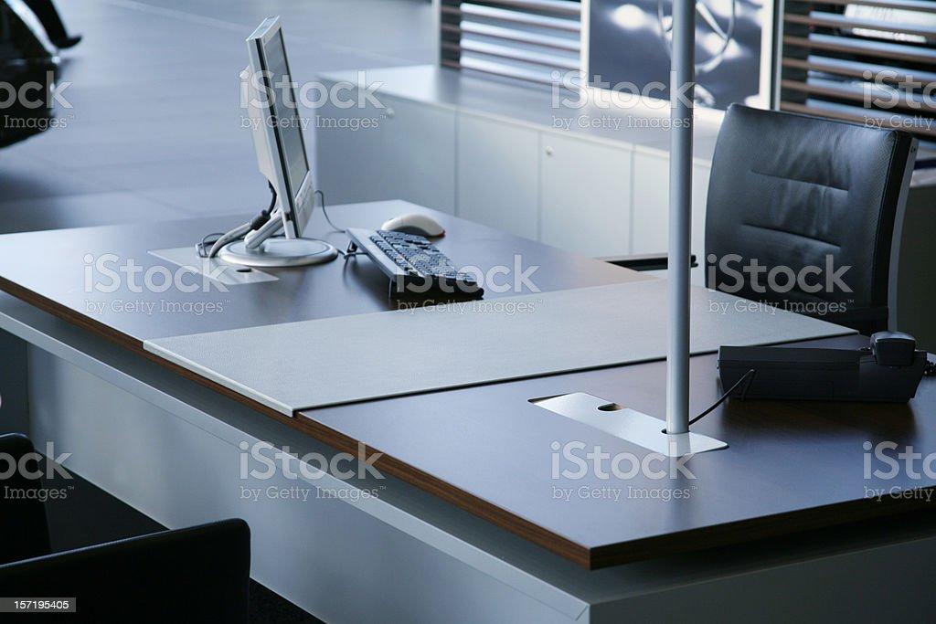 Office desk royalty-free stock photo