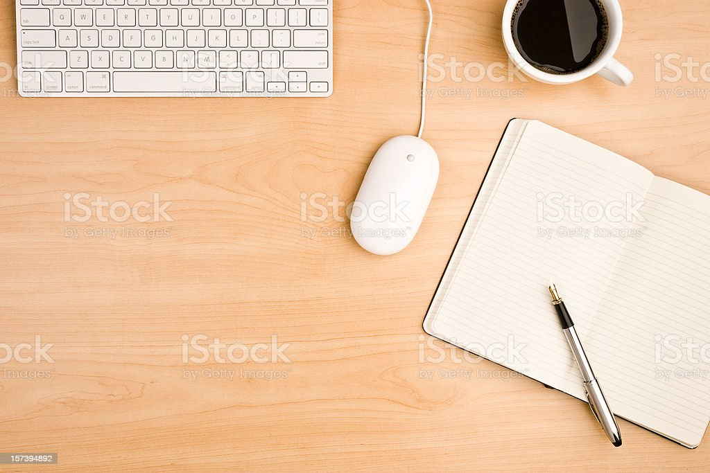 Office Desktop royalty-free stock photo