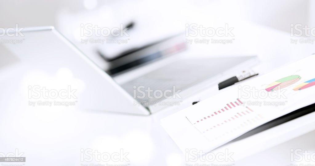 Office desktop stock photo