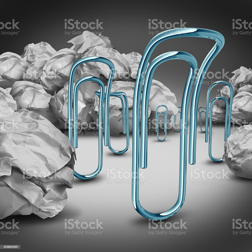 Office Downsizing Concept stock photo