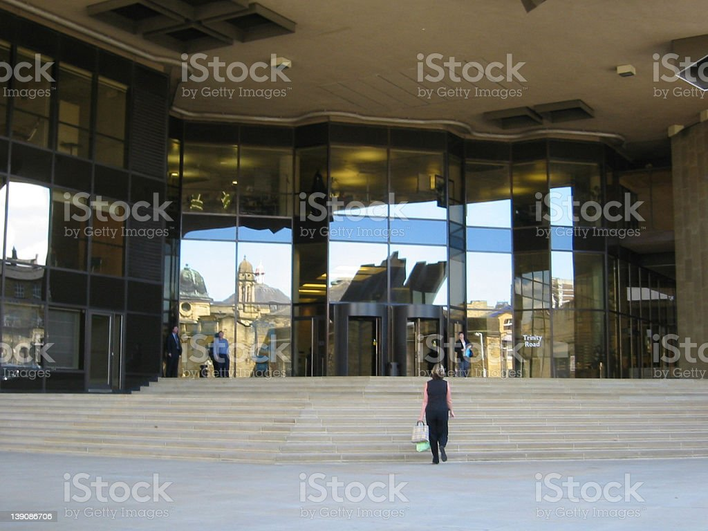 Office Enterance royalty-free stock photo