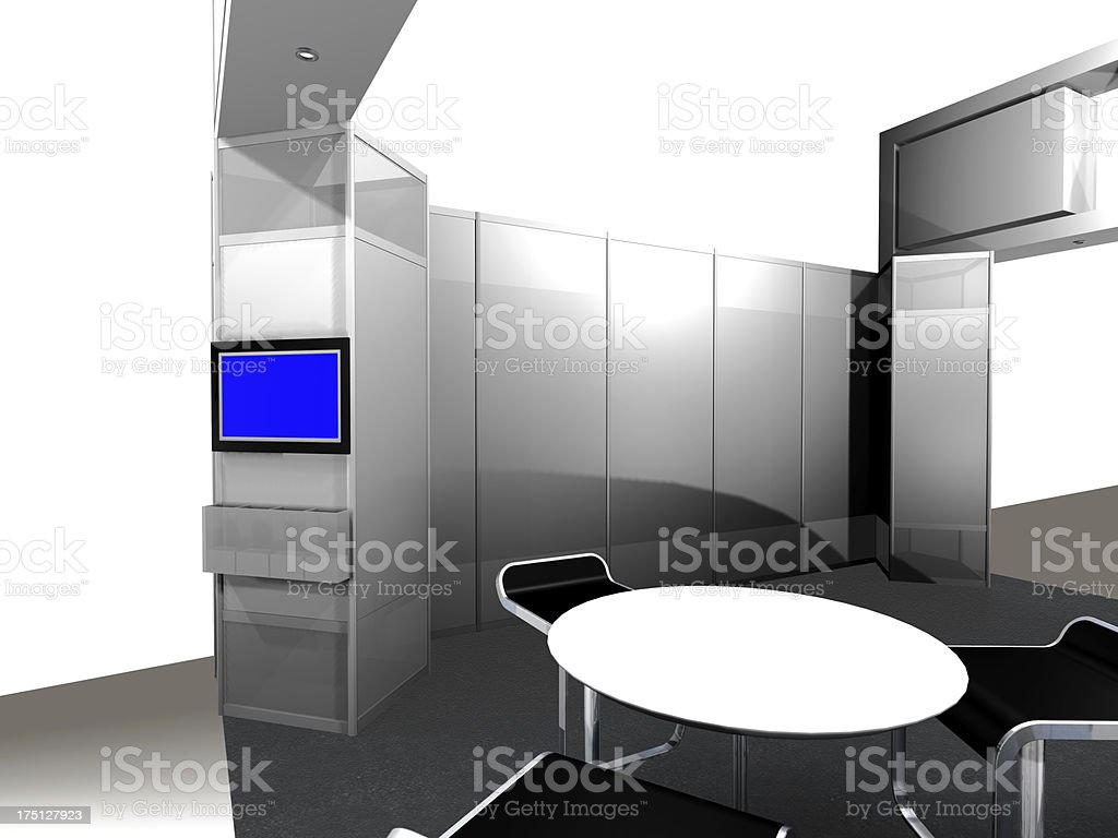 Office Entrance Area royalty-free stock photo