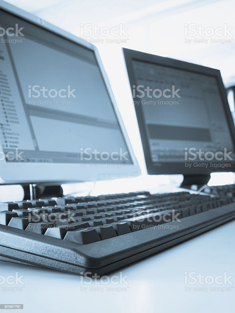 office enviroment royalty-free stock photo