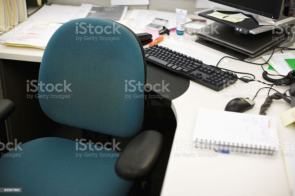 Office Environment in a diverse office stock photo