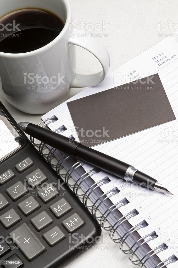 Office Equipments royalty-free stock photo