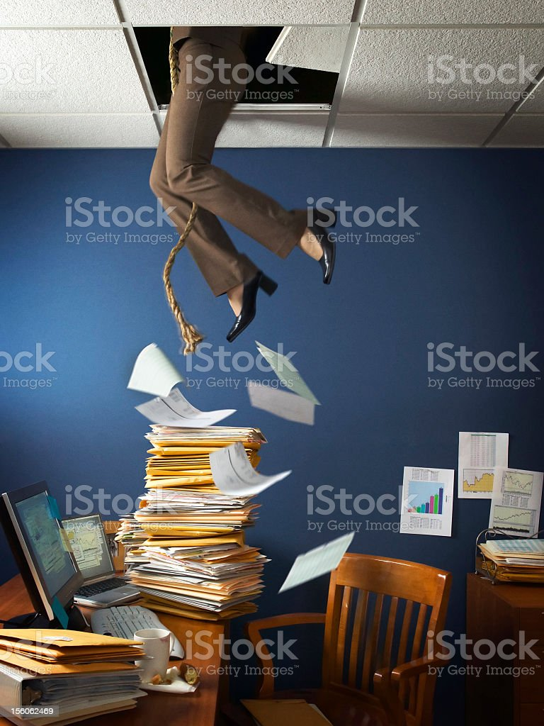 Office Escape stock photo