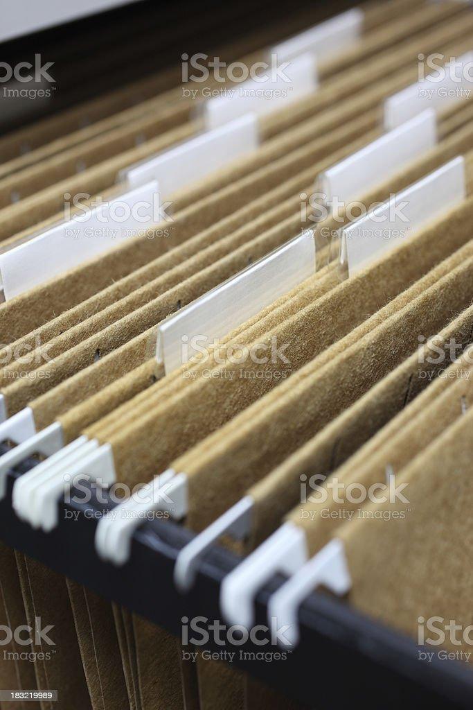 Office Files stock photo