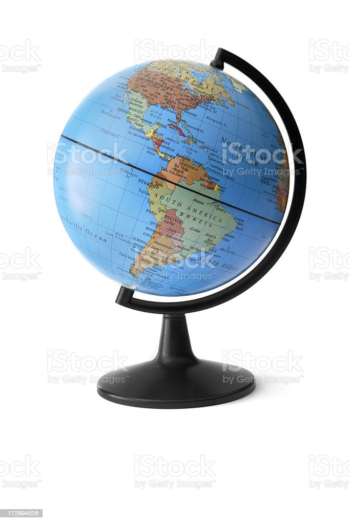 Office: Globe stock photo