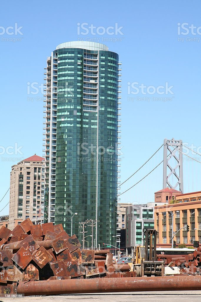 Office High-rise Building royalty-free stock photo