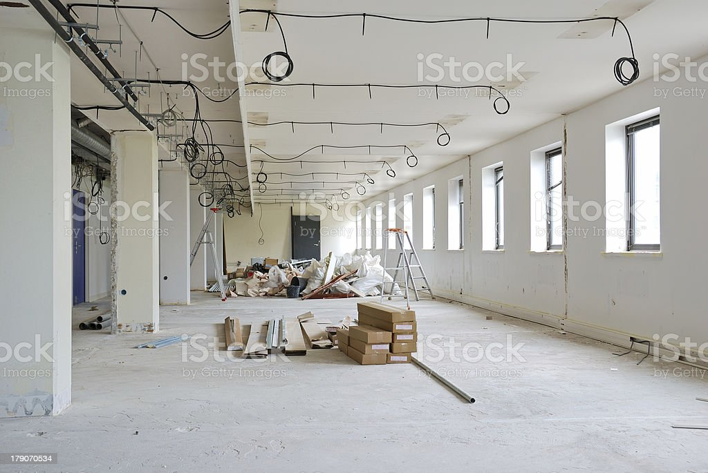 Office improvement stock photo