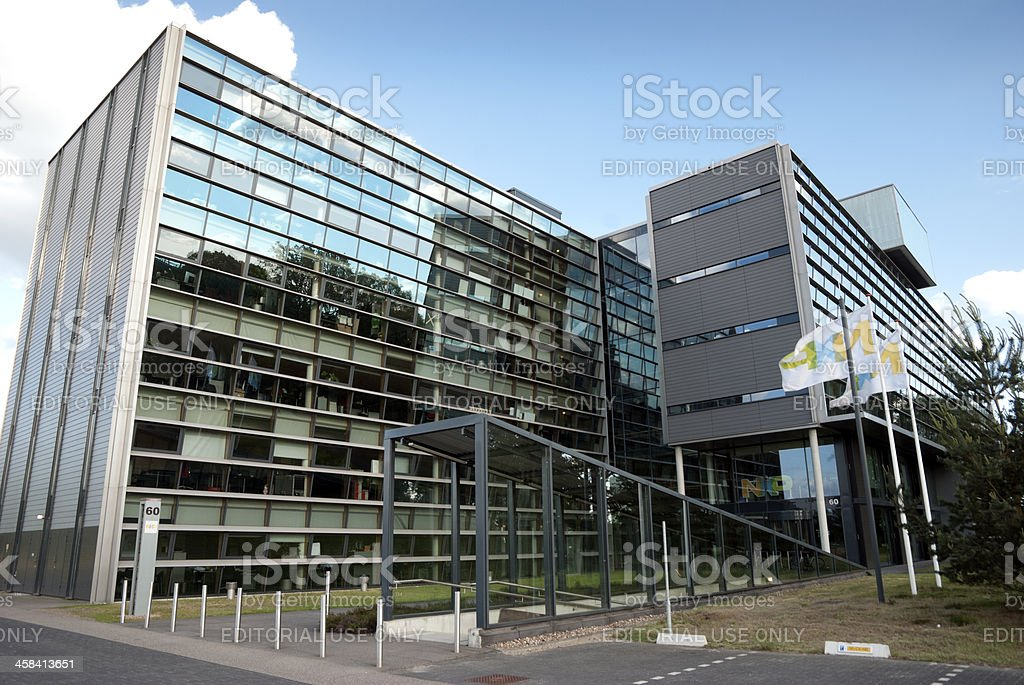 NXP office in Eindhoven, the Netherlands stock photo