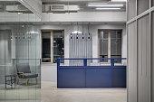 Office in loft style