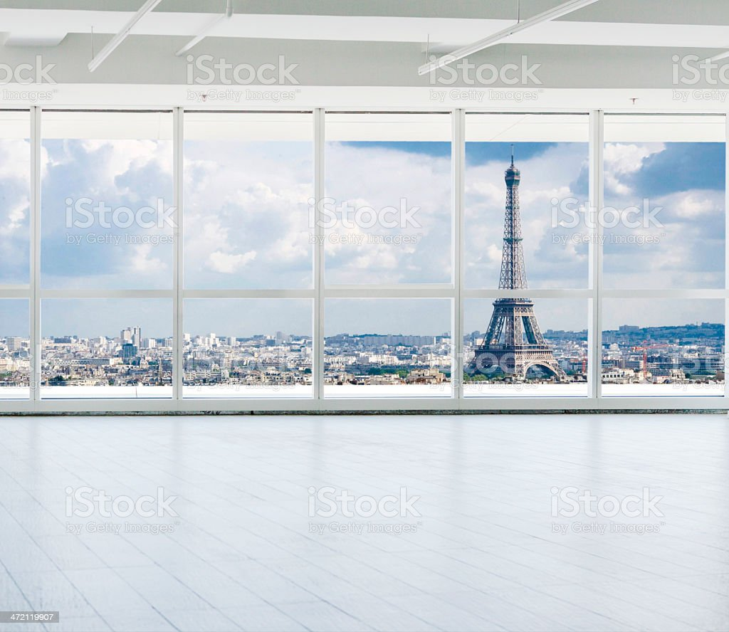 office in pairs stock photo