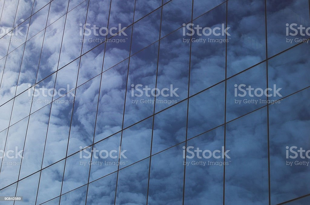 Office In The Clouds 2 royalty-free stock photo