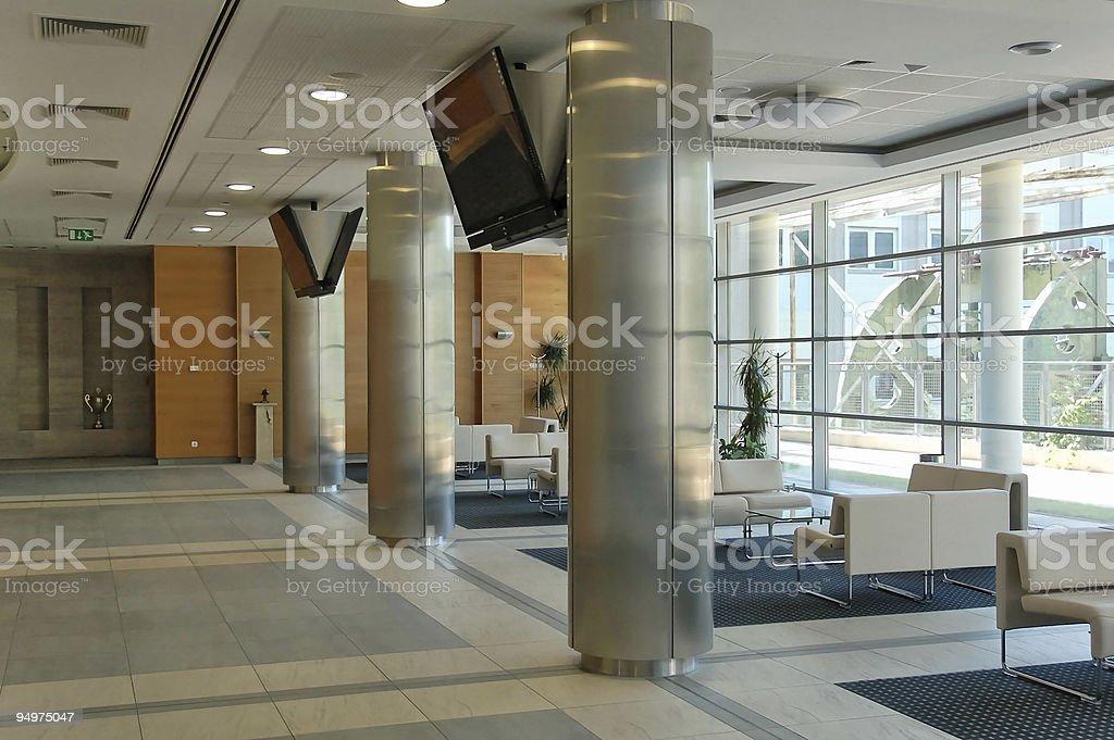 Office interior royalty-free stock photo