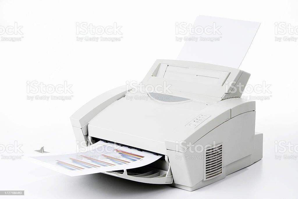 Office laser printer royalty-free stock photo
