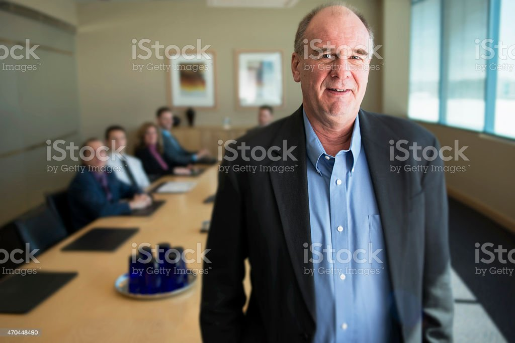 Office Leader stock photo