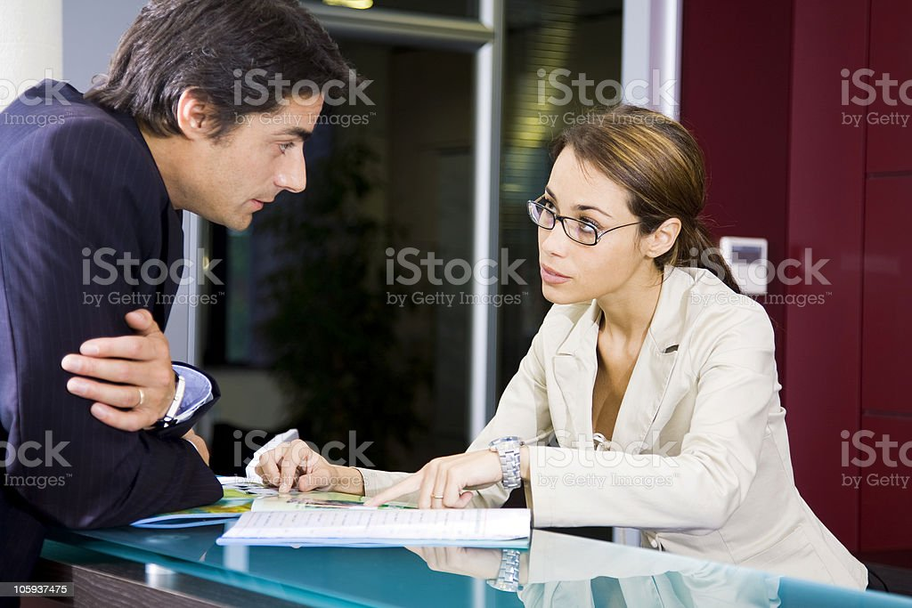 Office life royalty-free stock photo